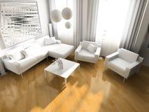 ελαφρύ δωμάτιο Στοκ Φωτογραφία
