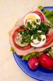 Ελαφρύ μεσημεριανό γεύμα Στοκ εικόνες με δικαίωμα ελεύθερης χρήσης