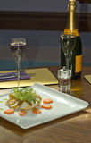 ελαφρύ μεσημεριανό γεύμα Στοκ Φωτογραφίες
