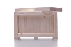 ελαφρύ να λάμψει κλουβιών ξύλινο Στοκ Φωτογραφία