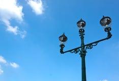 ελαφρύ παλαιό ύφος πόλων Στοκ φωτογραφία με δικαίωμα ελεύθερης χρήσης