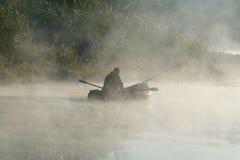 ελαφρύ πρωί ψαράδων Στοκ εικόνα με δικαίωμα ελεύθερης χρήσης