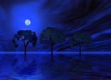 ελαφρύ φεγγάρι μυστικό ελεύθερη απεικόνιση δικαιώματος