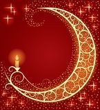 ελαφρύ φεγγάρι Στοκ φωτογραφία με δικαίωμα ελεύθερης χρήσης