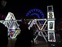Ελαφρύ φεστιβάλ κινηματογράφων στοκ εικόνα με δικαίωμα ελεύθερης χρήσης
