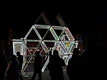 Ελαφρύ φεστιβάλ κινηματογράφων στοκ φωτογραφίες