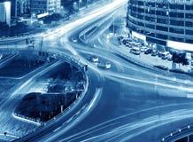 ελαφρύ overpass ίχνος Στοκ Εικόνες