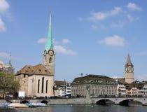 Ελβετία Ζυρίχη Στοκ Φωτογραφίες