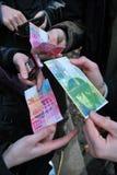 Ελβετικά francks στοκ εικόνα