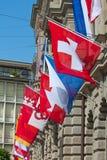 Ελβετική εθνική μέρα στη Ζυρίχη Στοκ εικόνες με δικαίωμα ελεύθερης χρήσης