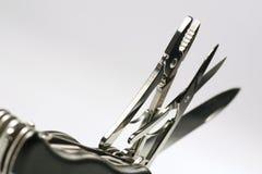ελβετικό βοήθημα μαχαιριών Στοκ Φωτογραφίες