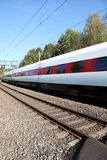 ελβετικό τραίνο Στοκ Φωτογραφίες
