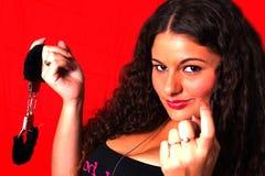 δελεαστική γυναίκα Στοκ εικόνες με δικαίωμα ελεύθερης χρήσης