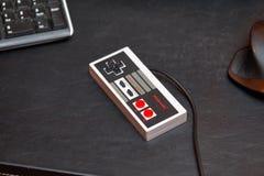 Ελεγκτής Nintengo NES Στοκ φωτογραφίες με δικαίωμα ελεύθερης χρήσης