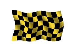ελεγμένη σημαία Στοκ φωτογραφία με δικαίωμα ελεύθερης χρήσης