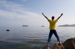 ελευθερία βραδιού Στοκ εικόνες με δικαίωμα ελεύθερης χρήσης