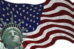 ελευθερία σημαιών διανυσματική απεικόνιση