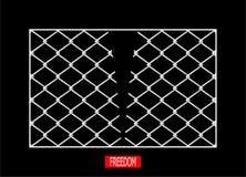 ελευθερία Στοκ εικόνες με δικαίωμα ελεύθερης χρήσης