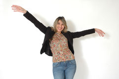 ελεύθερη γυναίκα προσ&omicron Στοκ φωτογραφία με δικαίωμα ελεύθερης χρήσης