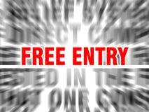 ελεύθερη είσοδος ελεύθερη απεικόνιση δικαιώματος