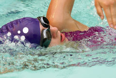 ελεύθερη κολύμβηση Στοκ Φωτογραφία
