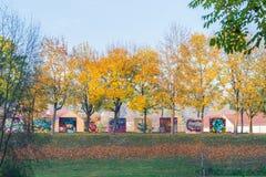 Ελεύθεροι τοίχοι για τον ψεκαστήρα γκράφιτι στο Ρέγκενσμπουργκ, Γερμανία Στοκ Φωτογραφίες