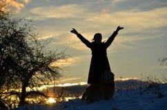 Ελεύθερος να είναι οποιος δήποτε θέλει για να είναι δύναμη μιας γυναίκας Στοκ Εικόνες