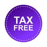 ελεύθερος φόρος ετικ&epsilon Στοκ Φωτογραφίες