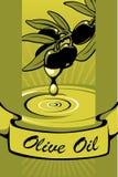ελιά πετρελαίου 2 ετικε διανυσματική απεικόνιση