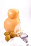 ελιά τυριών Στοκ φωτογραφία με δικαίωμα ελεύθερης χρήσης