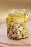 ελιές φέτας τυριών Στοκ Εικόνα