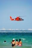 ελικόπτερο ακτοφυλακή& στοκ φωτογραφία