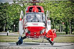 ελικόπτερο ασθενοφόρων στοκ φωτογραφίες