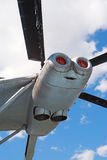 ελικόπτερο β 12 μηχανών Στοκ φωτογραφία με δικαίωμα ελεύθερης χρήσης