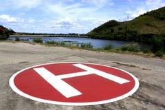 ελικόπτερο γεφυρών Στοκ Φωτογραφίες