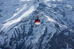 Ελικόπτερο διάσωσης σε Annapurna basecamp, Νεπάλ Στοκ εικόνα με δικαίωμα ελεύθερης χρήσης