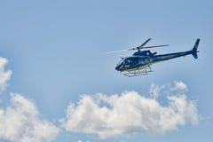 Ελικόπτερο πτήσης ζωής Στοκ Εικόνες