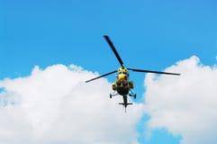 ελικόπτερο πτήσης Στοκ φωτογραφία με δικαίωμα ελεύθερης χρήσης