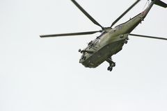 ελικόπτερο πτήσης Στοκ φωτογραφίες με δικαίωμα ελεύθερης χρήσης