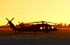 ελικόπτερο στρατιωτικό Στοκ εικόνα με δικαίωμα ελεύθερης χρήσης