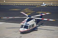 ελικόπτερο agusta aw139 westland Στοκ Εικόνες