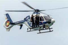 Ελικόπτερο Eurocopter ΕΚ-135 στοκ εικόνες με δικαίωμα ελεύθερης χρήσης