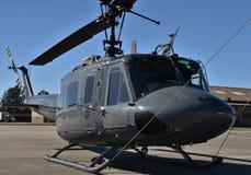Ελικόπτερο Huey Πολεμικής Αεροπορίας uh-1N Στοκ φωτογραφία με δικαίωμα ελεύθερης χρήσης