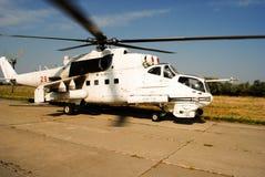Ελικόπτερο mi-24 στοκ εικόνα