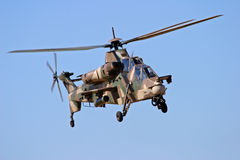 ελικόπτερο rooivalk στοκ εικόνες