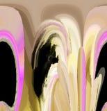 Ελκυστικές αφηρημένες γραφική παράσταση και τέχνη σε ένα συμπαθητικό σχέδιο στοκ φωτογραφία