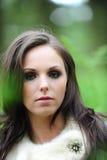 ελκυστικές θηλυκές νεολαίες brunette Στοκ Φωτογραφίες
