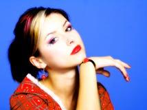 ελκυστικές νεολαίες γυναικών Στοκ εικόνα με δικαίωμα ελεύθερης χρήσης