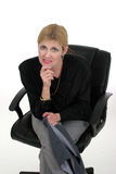 ελκυστική γυναίκα ανώτα&ta Στοκ φωτογραφίες με δικαίωμα ελεύθερης χρήσης