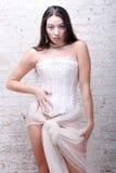 ελκυστική γυναίκα κορ&sigma στοκ εικόνα